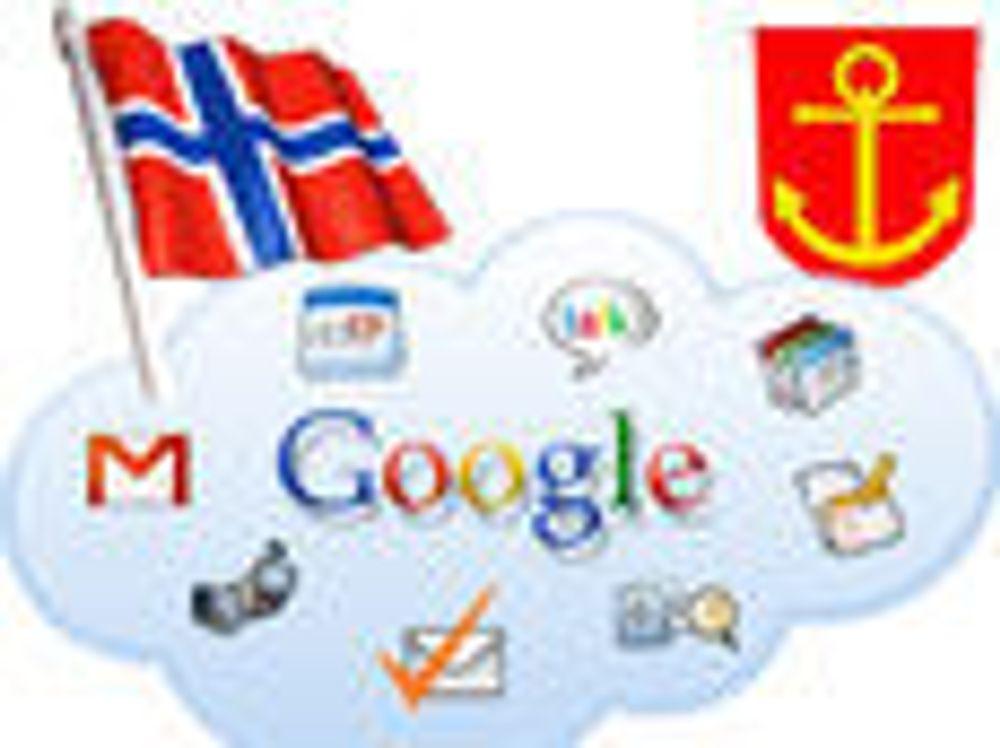 Narvik velger Google Apps