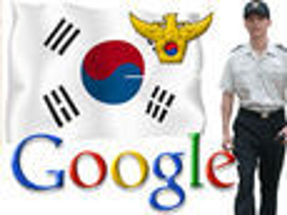 Razzia mot Google i Sør-Korea