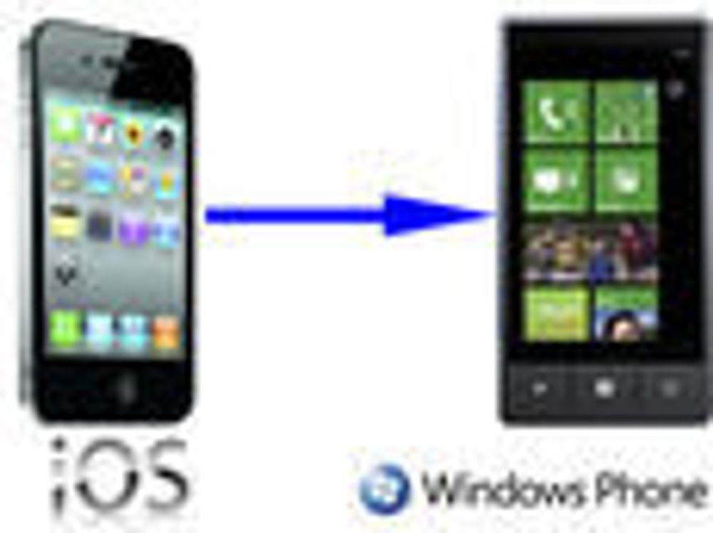 Vil ha flere iPhone-apper til Windows Phone