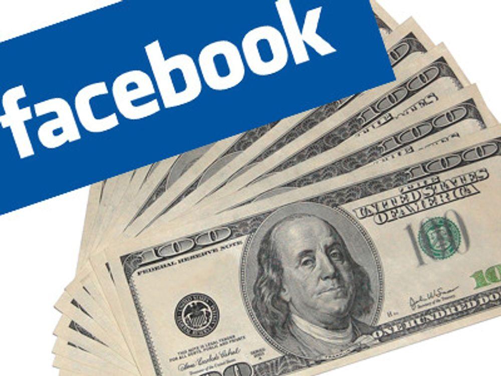 Facebook stiger utrolig raskt i verdi