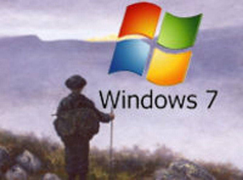 Windows 7 selger som varmt hvetebrød