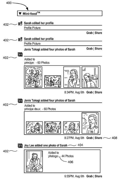 Facebook tar patent på det åpenbare