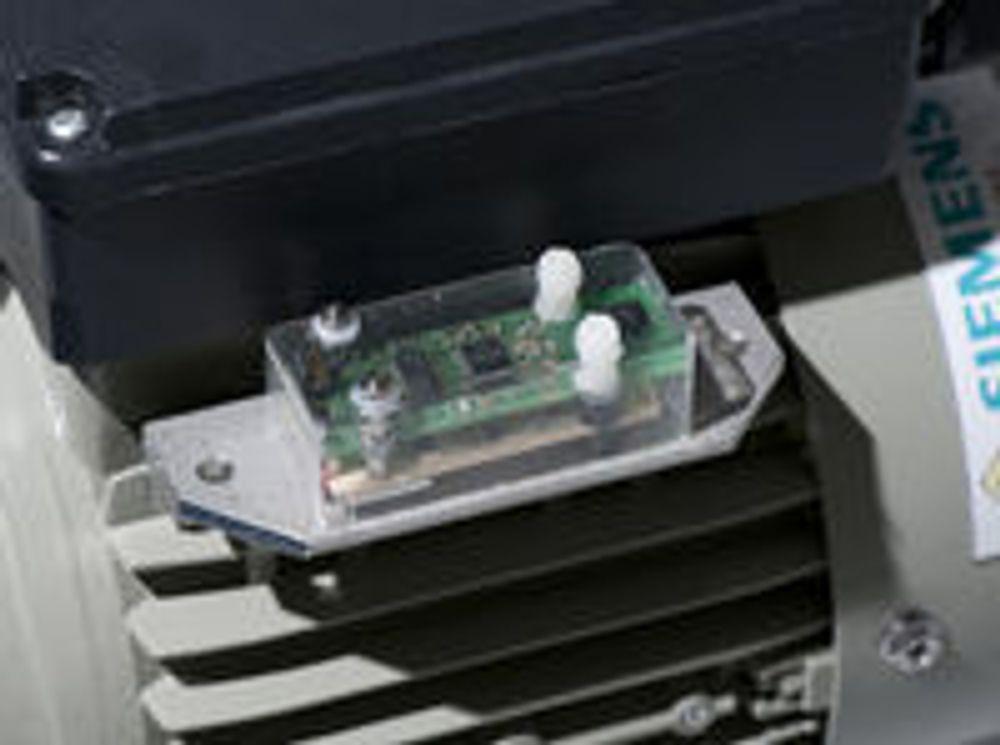 Energikilden til denne sensoren er vibrasjoner fra motoren den er montert på.
