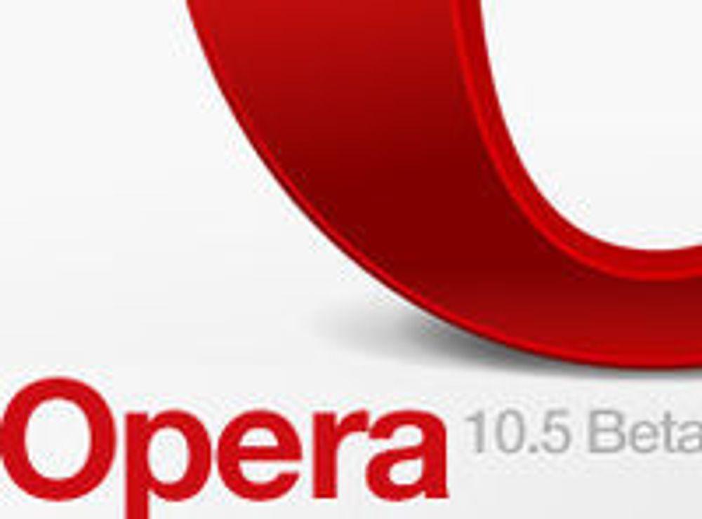 Opera 10.50 kan betatestes på Mac