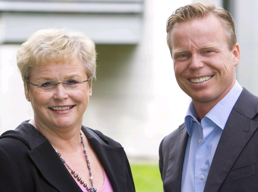 Administrerende direktør Marit Fagervold og salgs- og markedsdirektør Eirik Pedersen i Proact tror det norske lagringsmarkedet trenger mer virtuell tilrettelegging, deduplisering og automatisert flernivålagring.