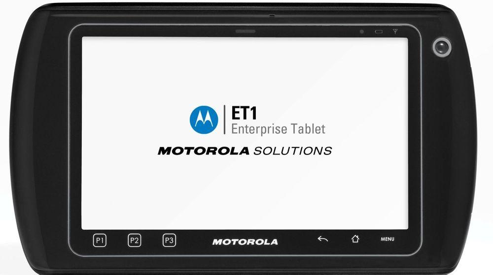 Det Android-baserte nettbrettet ET1 fra Motorola Solutions.