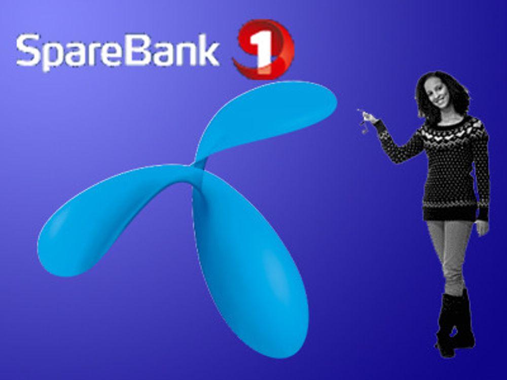 SpareBank 1 velger Telenor