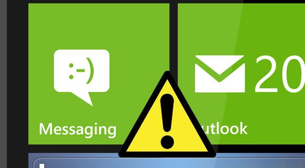 Teksten som er brukt kan få en flere Microsoft-produkter til å krasje, inkludert Messaging-huben i Windows Phone.