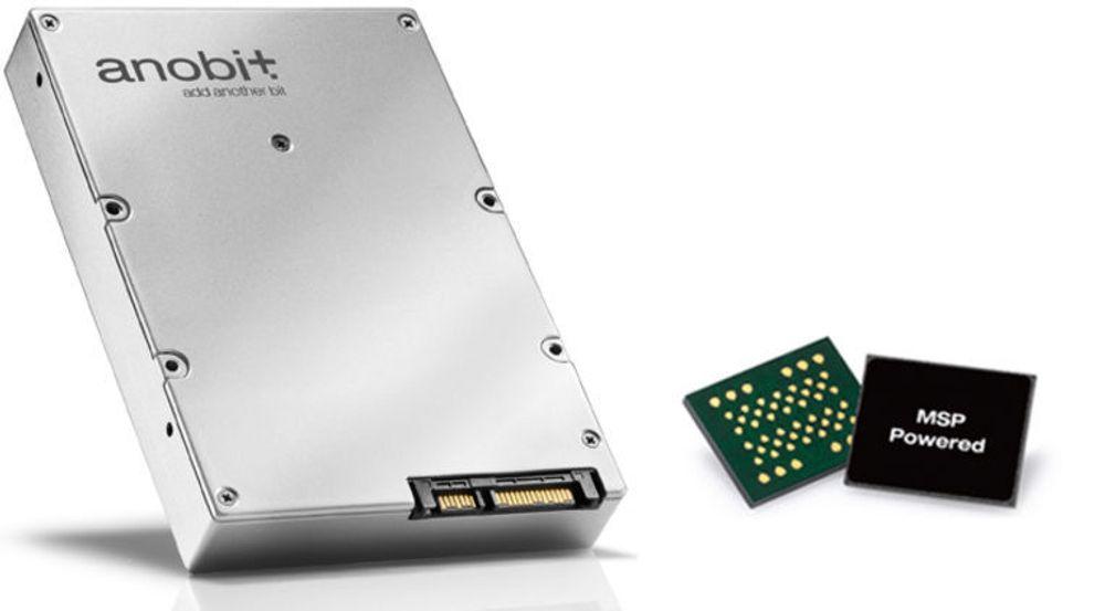 Anobit lager MSP-kokntrollere for flashminne fra Samsung og Hynix, og tilbyr også SSD-lagringsenheter til forbruker- og bedriftsmarkedet.