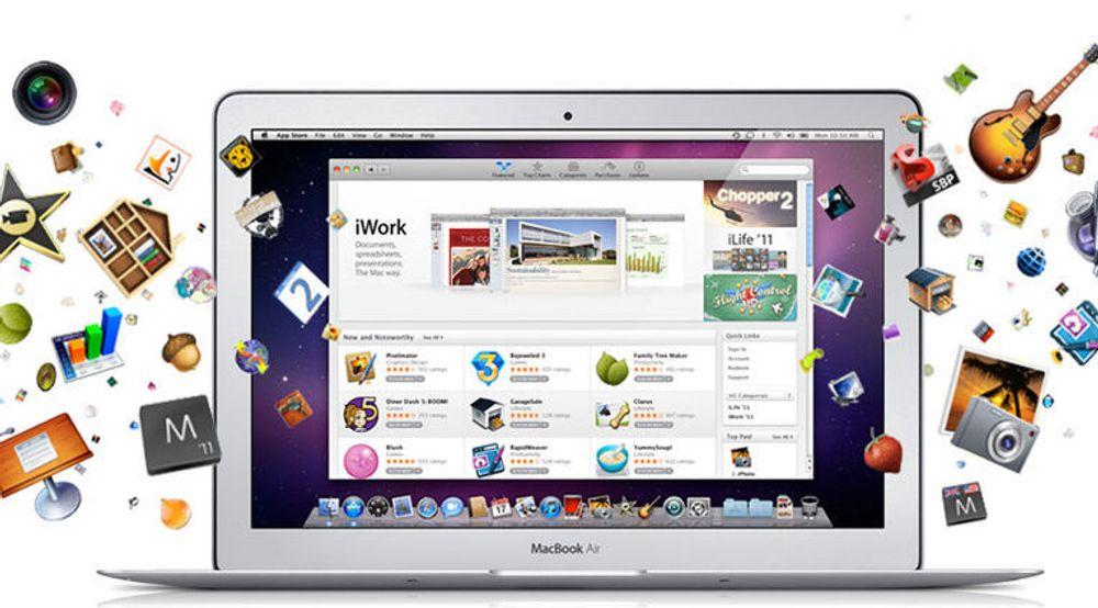 Apple lanserte Mac Apps Store i januar i år.