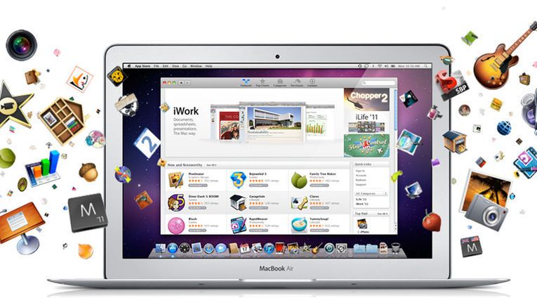 Apple lanserte Mac Apps Store i januar i år.