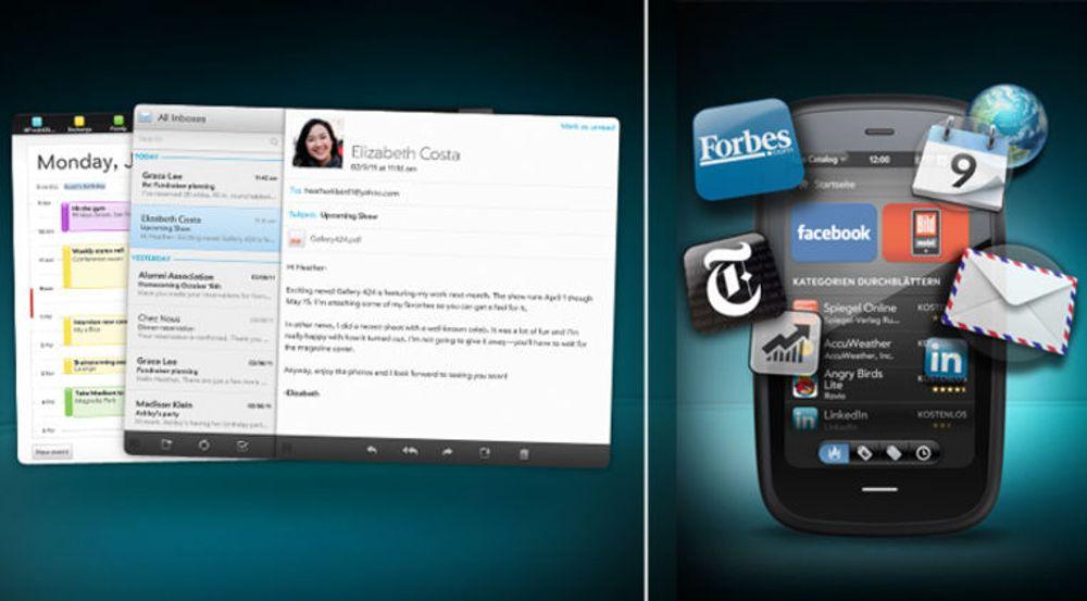 webOS kan brukes på pc, brett og mobil.