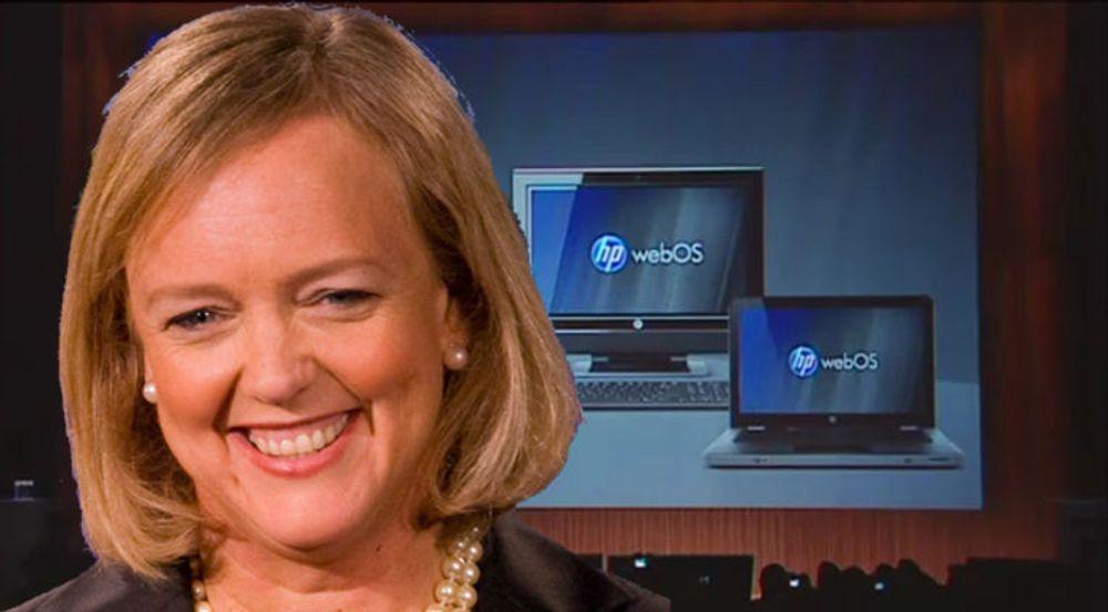 HP-sjef Meg Whitman har kommet med svært positive uttalelser som webOS i det siste.