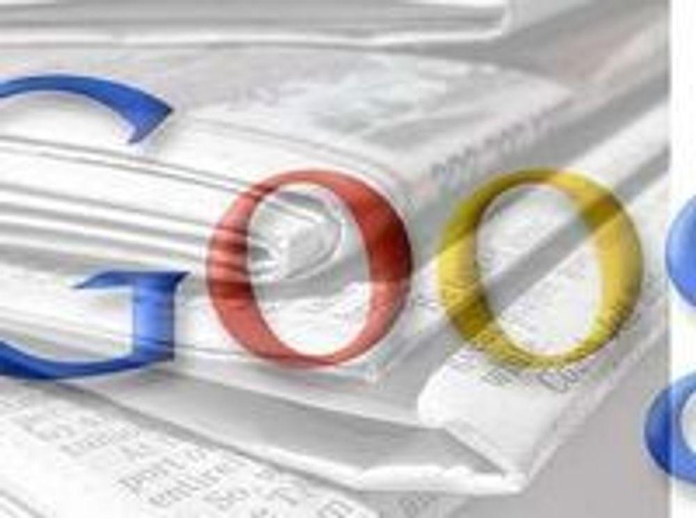 Google firedobler avisarkiv