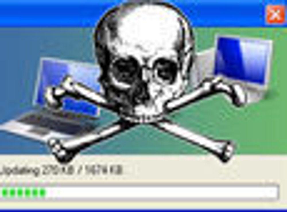 Kaprer PC-en under oppdatering
