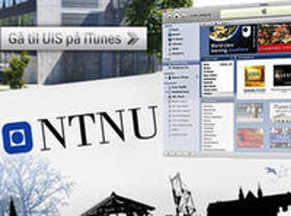 Gir bort forelesninger på iTunes