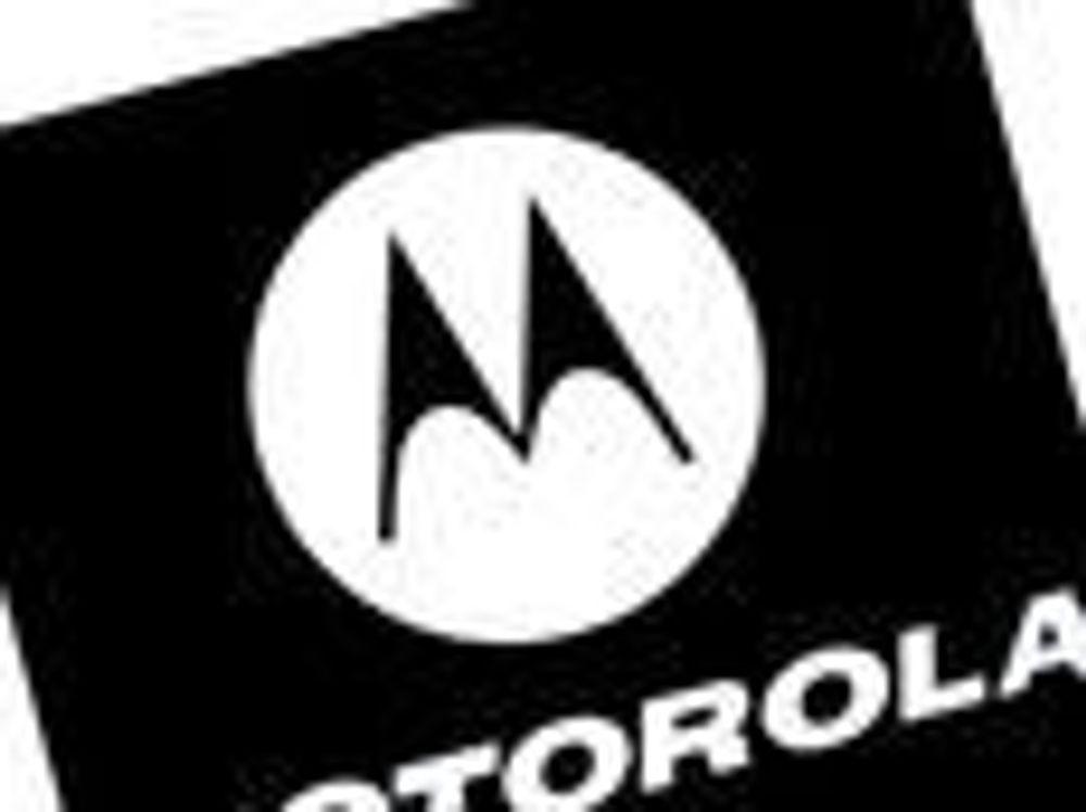 Motorolas mobilsalg i fritt fall