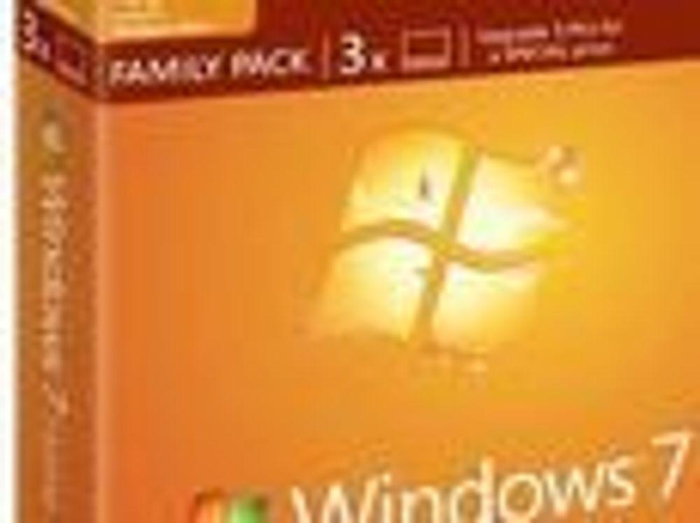 Windows 7 Home Premium Family Pack