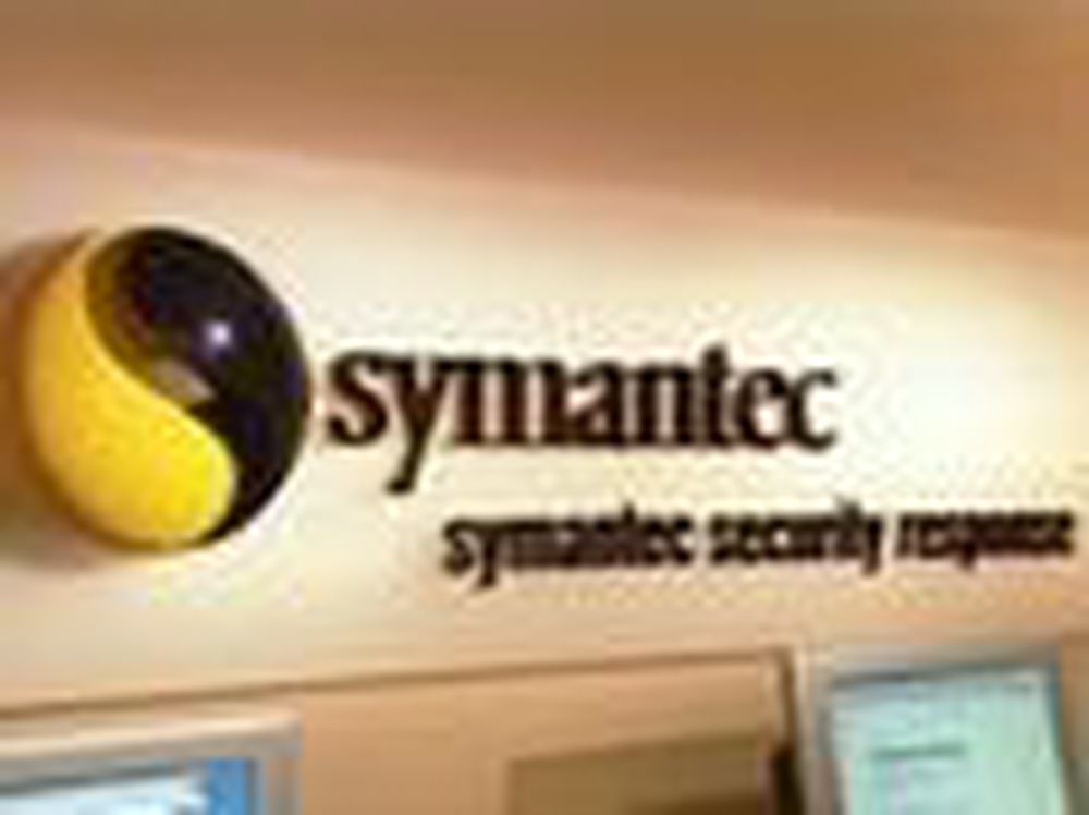 Symantec-aksjen stupte etter svake tall