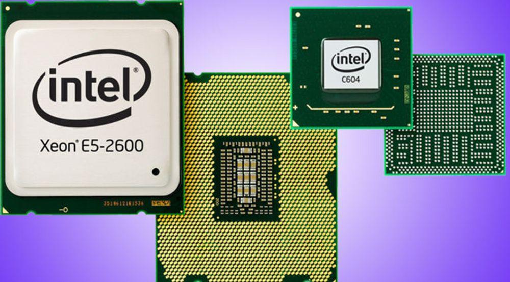 Prosessorene i E5-2600-serien og brikkesettet C604 skal utgjøre datakraften i moderne datasentra, mener Intel.
