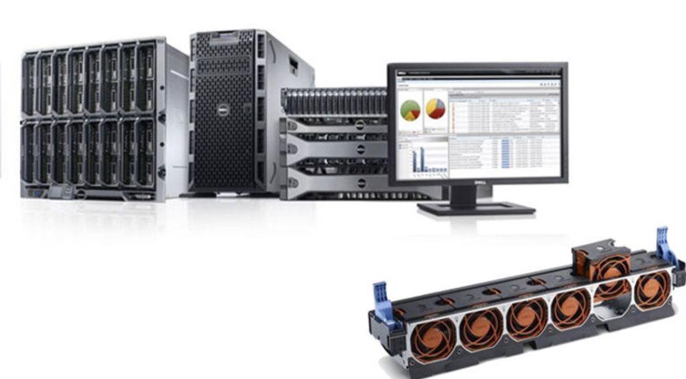 Dell lanserer nye bladservere, tårnservere og rackservere 7. mars, med oppgradert og utvidet drifts- og administrasjonsverktøy. Det er lagt mye arbeid i mer effektiv luftkjøling, blant annet nye vifter.