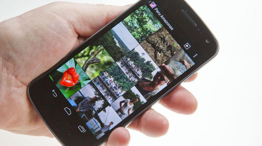 Enhver Android-app som tillates å gå på nett, har også full tilgang til alle lokalt lagrede bilder, og kan kopiere dem til hvor som helst.