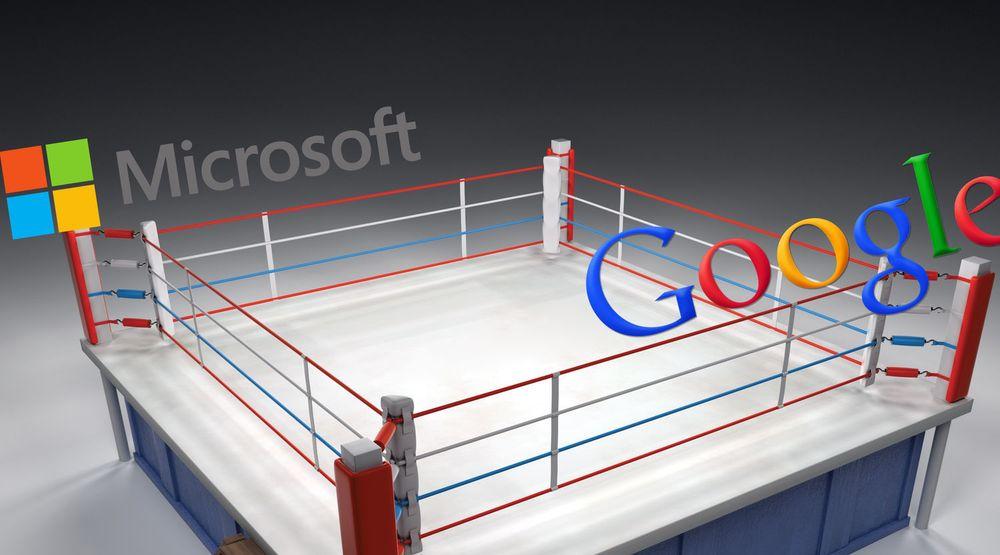 Microsoft har i økende grad begynt å bruke PR-kampanjer med negativ omtale av Google. Så langt har Google i liten grad brydd seg om å svare.