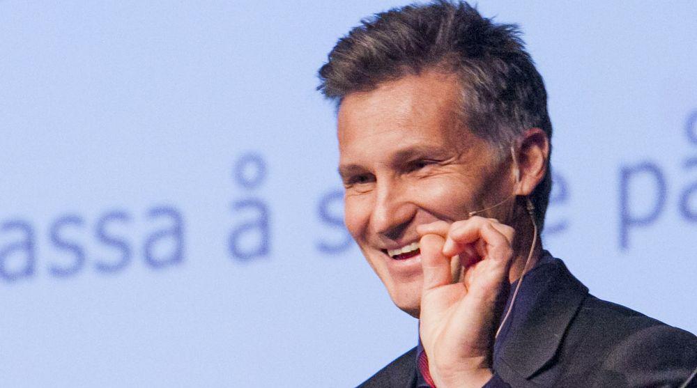 Direktør i Datatilsynet, Bjørn Erik Thon, kan glede seg over at Personvernmeldingen avviser det han selv mener var en «dårlig ide».