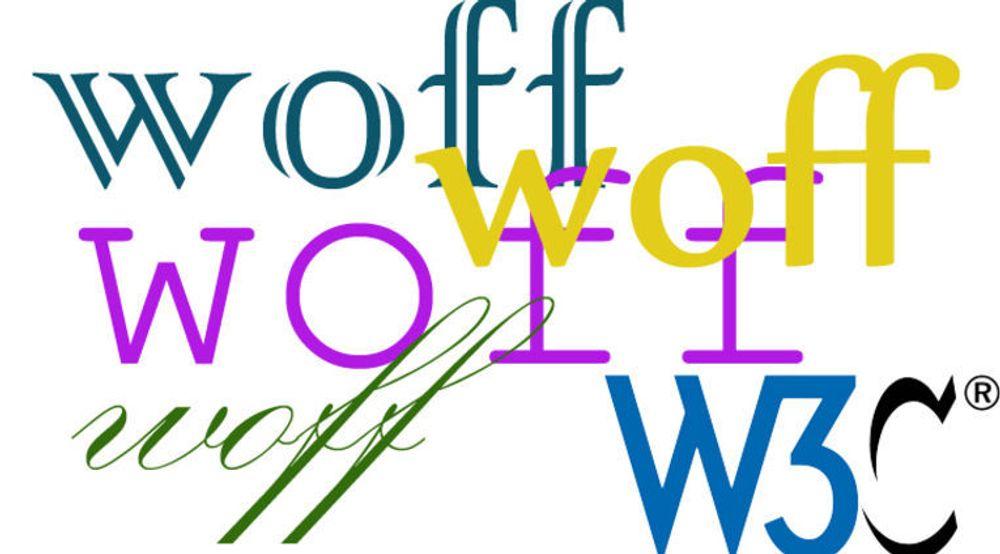 W3Cs WOFF-standarden spesifiserer en format for pakking av fonter. Det er spesielt beregnet for websider.