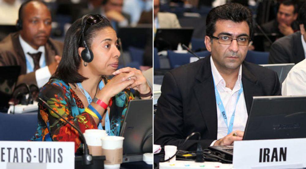 USA ble overrumplet av Iran på ITUs toppmøte WCIT som forhandler fram en ny internasjonal traktat for telekommunikasjon.