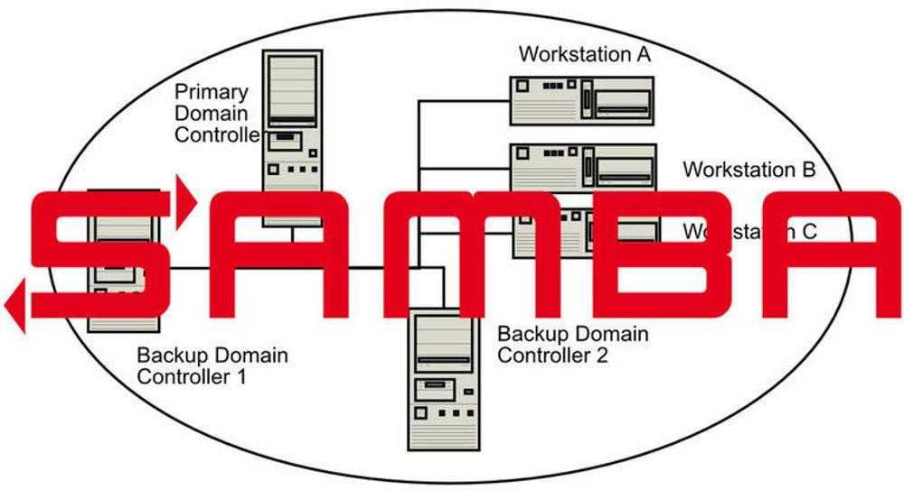 Samba gjør det enkelt å tilby fil- og printtjenester i lokalnett hvor det er en blanding av Windows- og Linux-/Unix-maskiner. Active Directory, som nå støttes, tilbyr et sentralt sted for administrasjon og sikkerhet i nettverket. Disse serverne kalles for domenekontrollere.