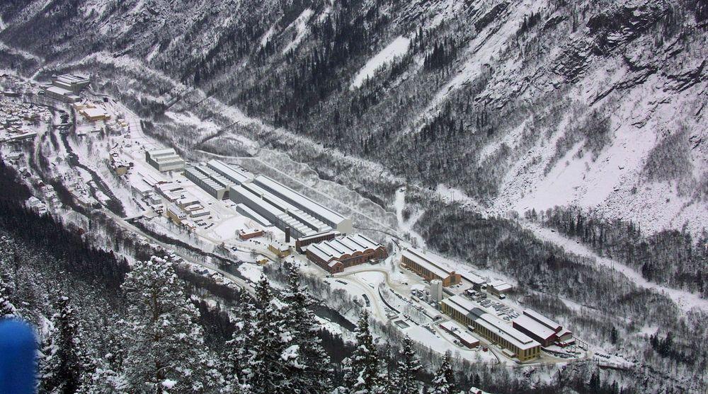 Industri-stedet Rjukan i Telemark satser tungt på datasenter. Men nå må de sloss med industriselskapet Norsk Hydro om navnet Nydro.