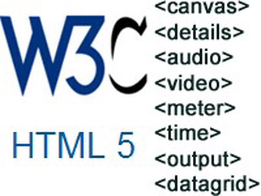 Hektisk arbeid for å fullføre HTML5