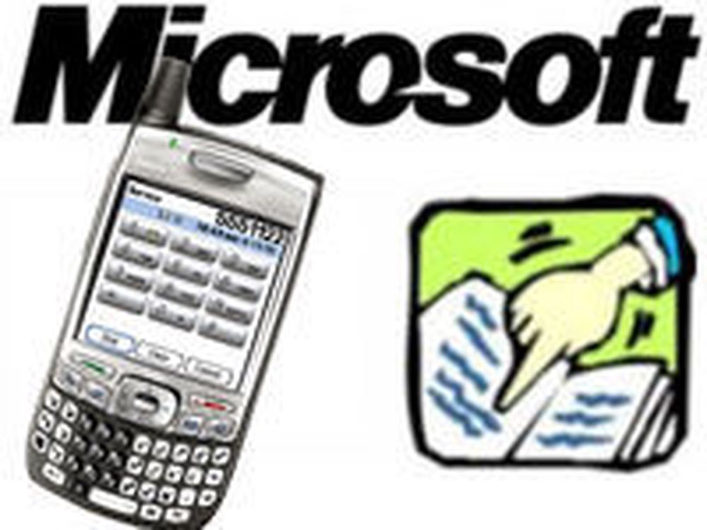 Microsoft lisensierer stridbare Palm-patenter