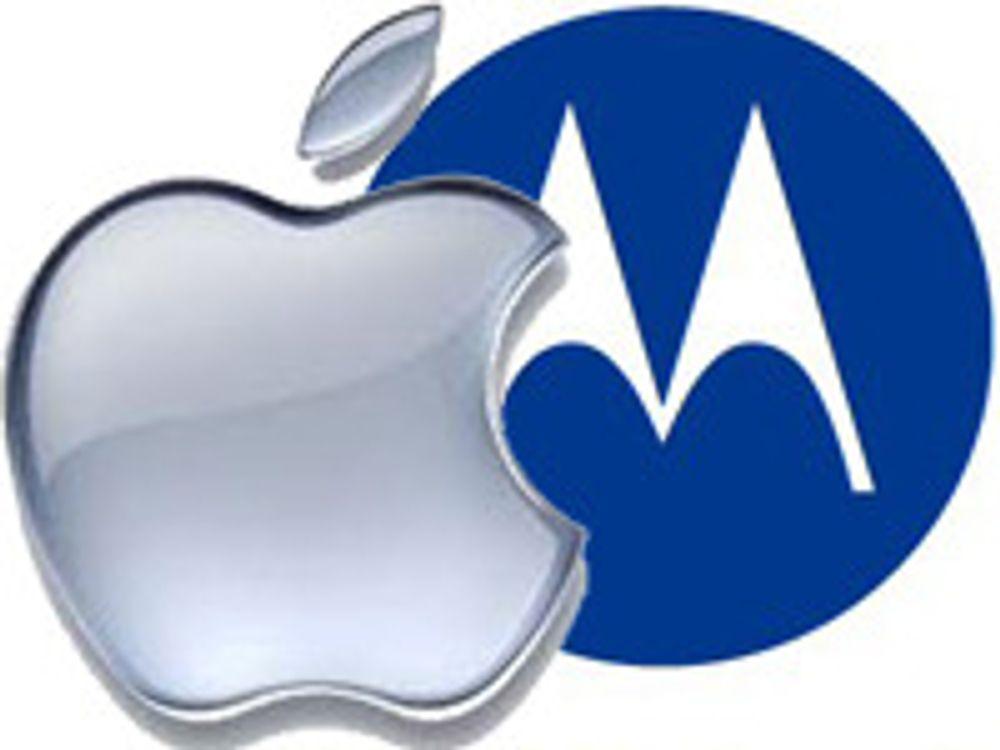Motorola saksøker Apple for 18 patentbrudd