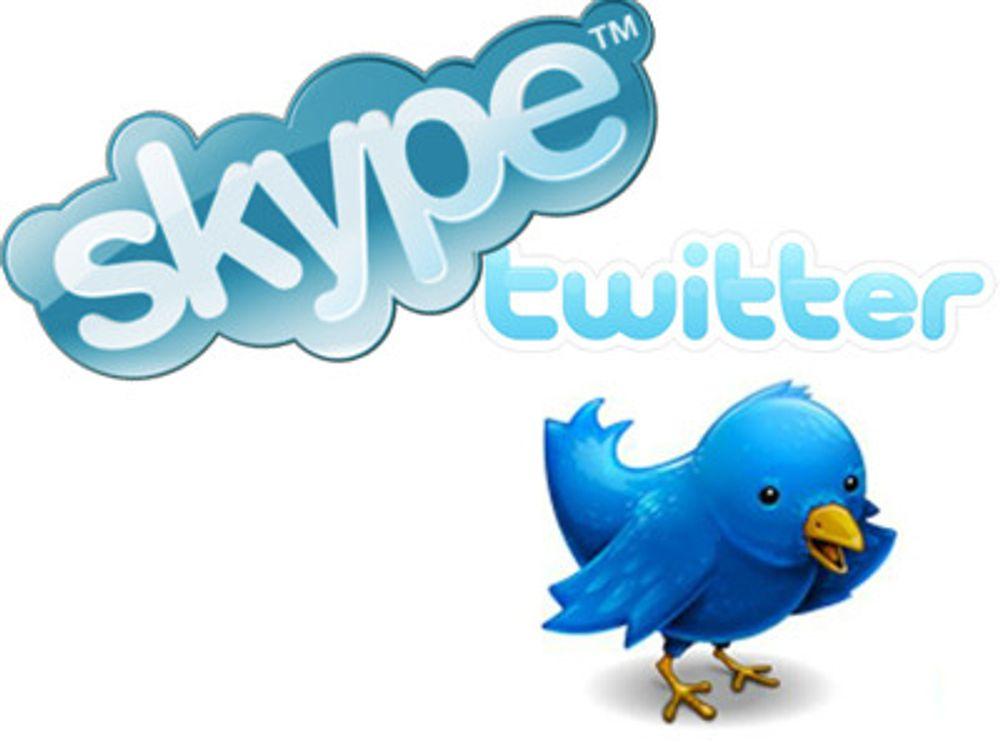 Tungvektere tar over i Skype og Twitter