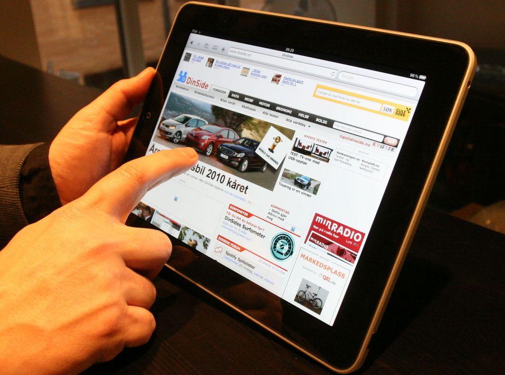 Spår enormt nettbrett-salg i Norge