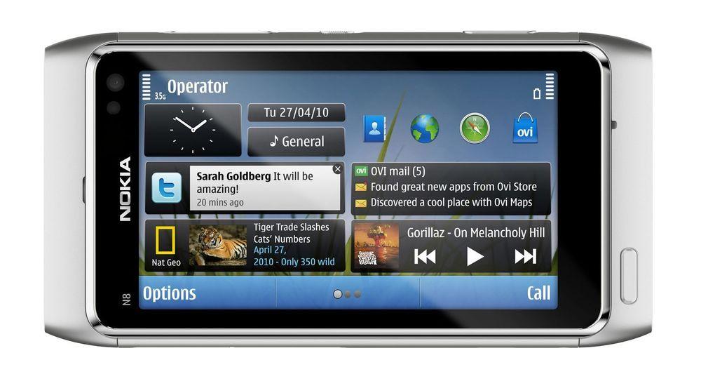 Klar for norgespremiere: N8 er Nokias nye smartmobiltelefon.