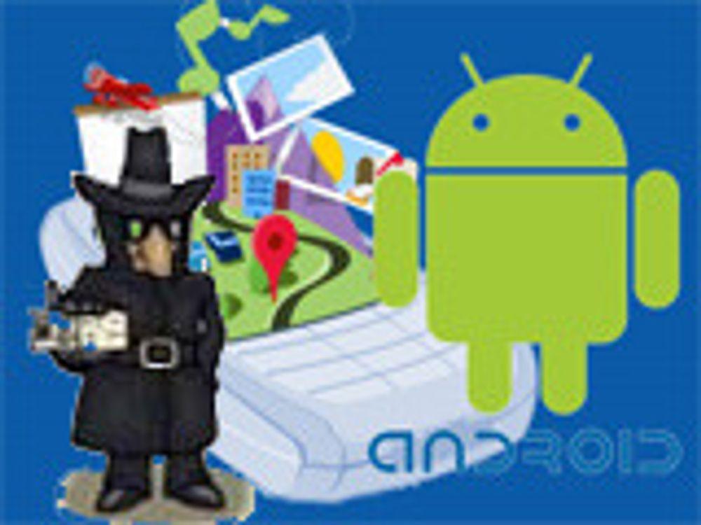 Android-apper lekker brukerdata