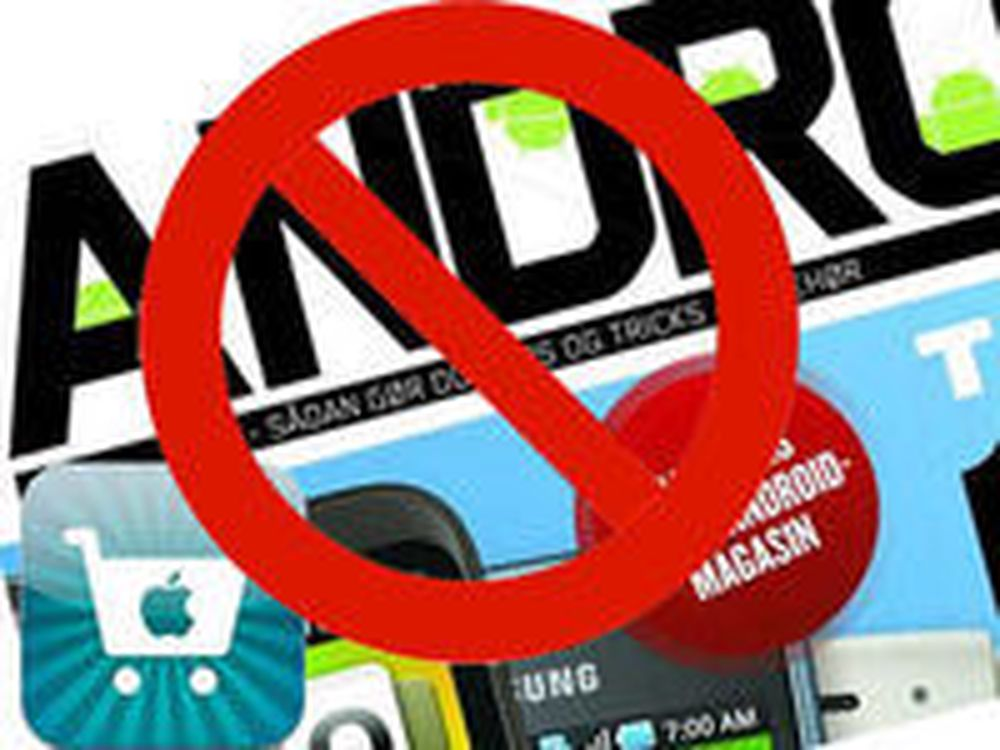 Android-magasin avvist av App Store