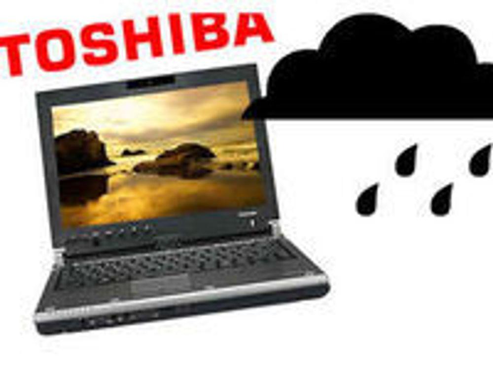 Dystre utsikter for Toshiba