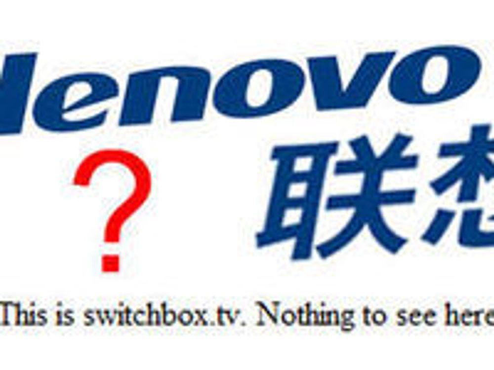 Lenovo kjøper mystisk selskap