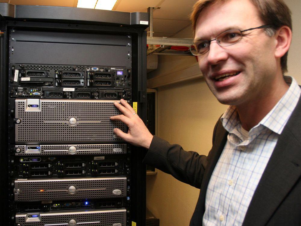 Inge Hjelmfoss, produktsjef i Dell Norge