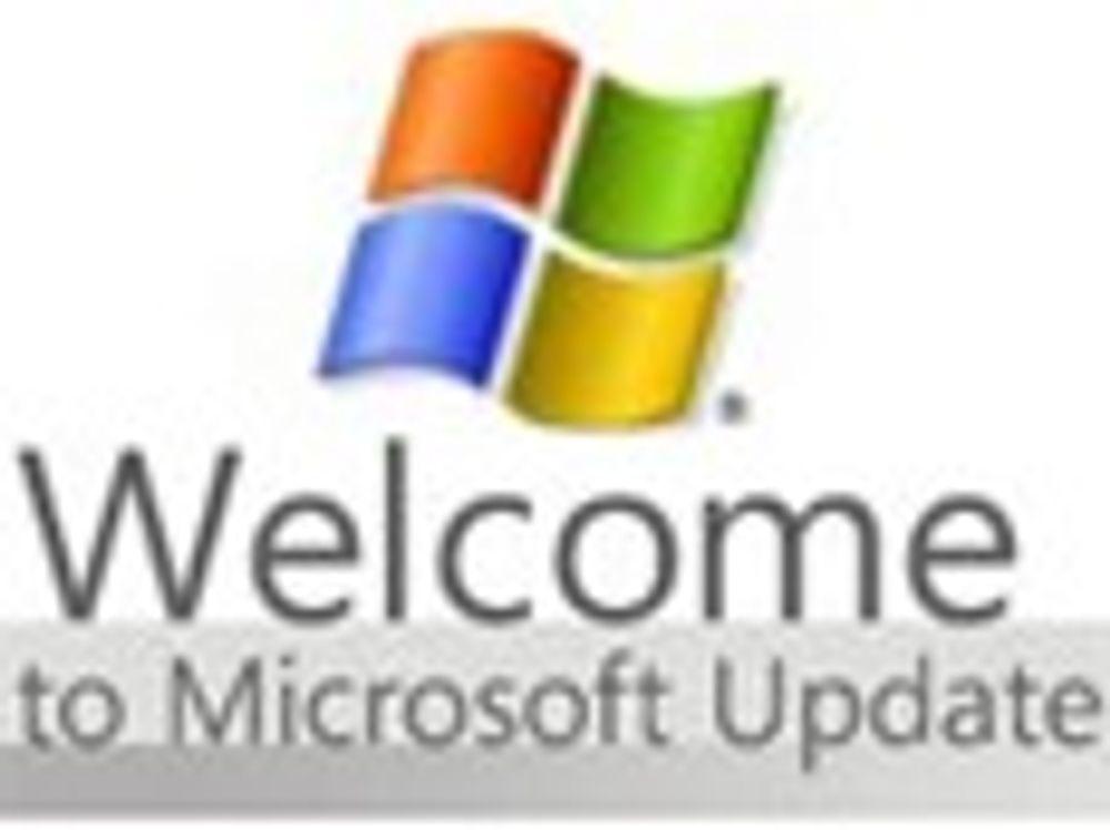 Windows-oppdatering var ren rutine