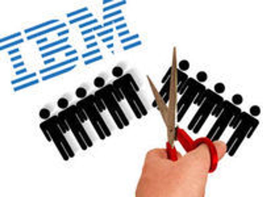 Bekrefter jobbkutt i IBM USA