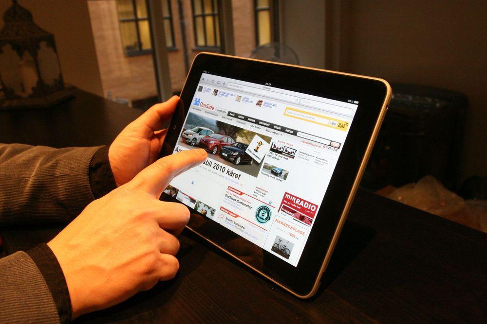 100.000 nordmenn har iPad