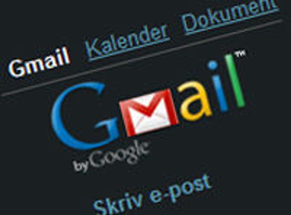 Gmail rammet av mystisk feil