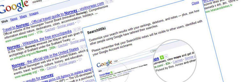 Nå kan du skreddersy søkeresultatene i Google. Men ideen med brukerinvolvering og tilpassede resultater er ikke ny.