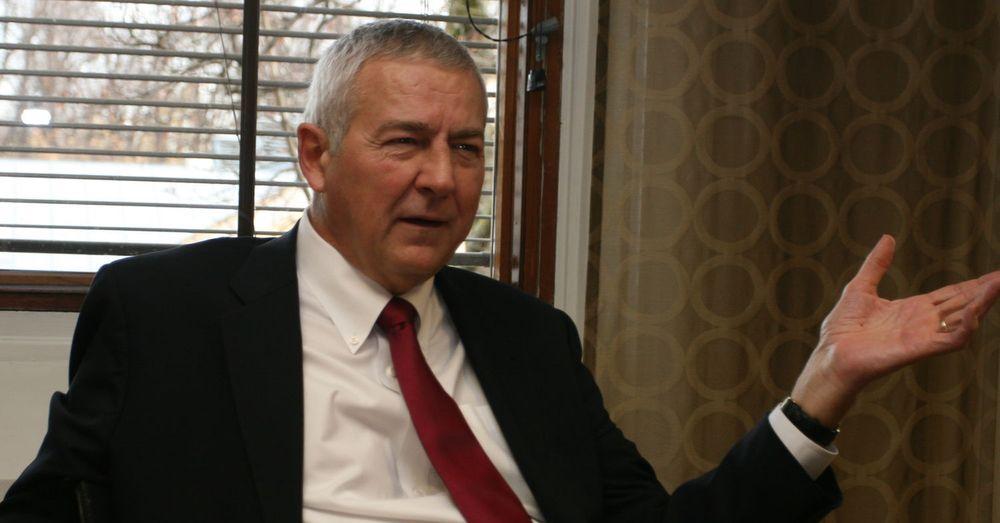 SAS Institute-sjef James Goodnight fløy til Oslo i egen privatjet. IT-gründeren har siden starten i 1976 aldri måttet ty til oppsigelser.