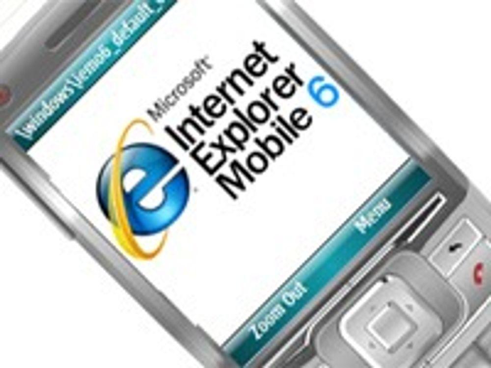 Prøv Microsofts nye mobilnettleser